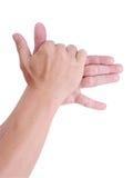 De hand van de mens. Royalty-vrije Stock Afbeeldingen