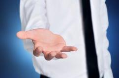 De hand van de mensenaanbieding Stock Fotografie