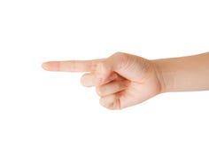 De hand van de vrouw. Royalty-vrije Stock Foto