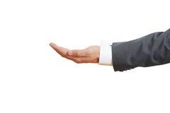 De hand van de zakenman Royalty-vrije Stock Afbeelding