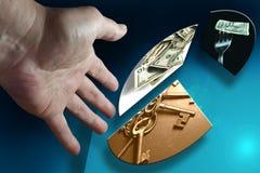 De Hand van het contante geld Royalty-vrije Stock Afbeelding