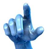 De Hand van het metaal Royalty-vrije Stock Foto