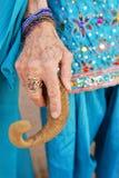 De Hand van het orakel Stock Foto