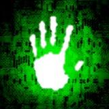 De Hand van Techno vector illustratie