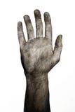 De hand van Undead Royalty-vrije Stock Afbeeldingen