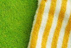 De handdoek van de textuur Stock Afbeelding
