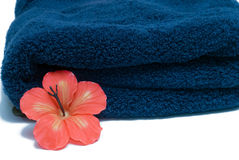 De Handdoek van het kuuroord Royalty-vrije Stock Fotografie