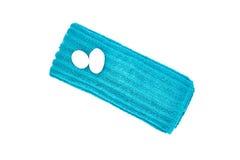 De Handdoek van het kuuroordgezicht stock fotografie