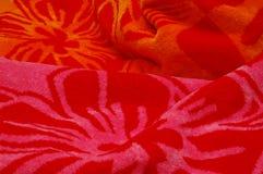 De Handdoek van het strand Stock Foto's