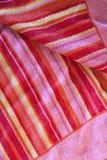 De Handdoek van het strand - AchtergrondTextuur in het Patroon van de Streep. royalty-vrije stock afbeeldingen