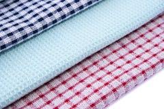 De handdoeken van de keuken Stock Afbeelding