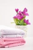 De handdoeken van het kuuroord Royalty-vrije Stock Afbeelding