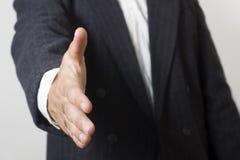 De handdruk van de zakenman Stock Fotografie