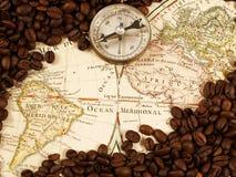 De handel van de koffie stock foto