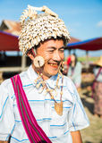 De handel voor de inwoners van Birma is de belangrijkste bron van inkomsten Stock Afbeeldingen