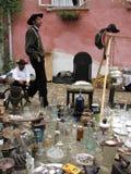 De handelaren van de zigeuner Stock Fotografie