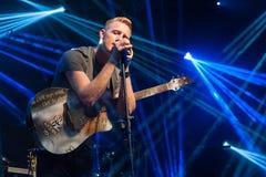 De handeling van de Coldplayhulde stock foto