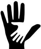 De handen. Stock Fotografie