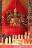 De Handen Guanyin van duizenden Stock Afbeelding