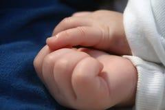 De handen van de baby Royalty-vrije Stock Afbeeldingen