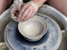 De Handen van de pottenbakker #1 Royalty-vrije Stock Foto's