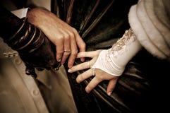De handen van het huwelijk Royalty-vrije Stock Fotografie