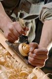 De handen van mannelijke arbeiders Royalty-vrije Stock Foto's