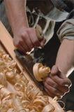 De handen van mannelijke arbeiders Royalty-vrije Stock Foto