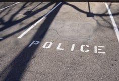 De Handhaving van de politiemachtwet stock fotografie