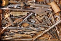 De handhulpmiddelen van de kunstenaar voor handcraft Stock Foto's