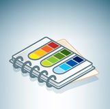 De Handleiding van de kleur Stock Foto