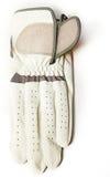 De handschoen van het golf stock afbeelding