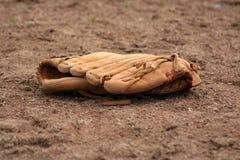 De handschoen van het honkbal stock foto's