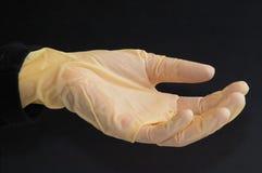 De handschoen van het laboratorium Stock Foto's