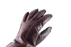 De Handschoen van het Leer van de hand Royalty-vrije Stock Foto's