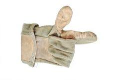 De handschoen van het werk stock foto's