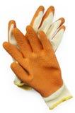 De handschoenen van de beschermingsgreep Stock Fotografie