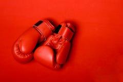 De handschoenen van de doos Royalty-vrije Stock Foto's