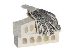 De handschoenen van de veiligheid Royalty-vrije Stock Afbeelding