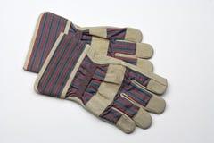 De handschoenen van de veiligheid Royalty-vrije Stock Foto's
