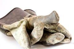 De Handschoenen van de werkman Royalty-vrije Stock Foto