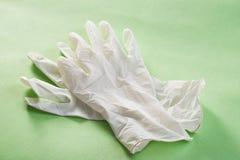 De handschoenen van het latex stock foto