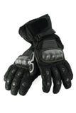 De handschoenen van het leer stock afbeelding
