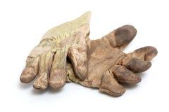 De handschoenen van het werk Stock Foto's