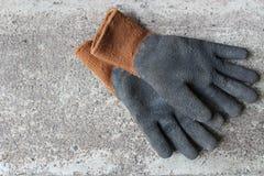 De handschoenen van het werk royalty-vrije stock foto