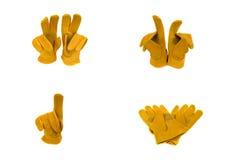 De handschoenen van het werk Royalty-vrije Stock Fotografie