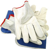 De handschoenen van het werk. Royalty-vrije Stock Foto's