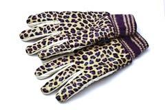 De handschoenenclose-up van de manier stock afbeelding