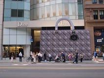 De Handtas van Dior Stock Foto's