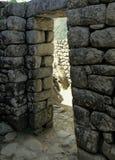 De handtekeningsdeuropening van Incas Stock Foto's